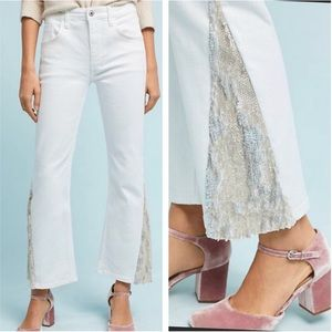 Anthropologie big rise jeans